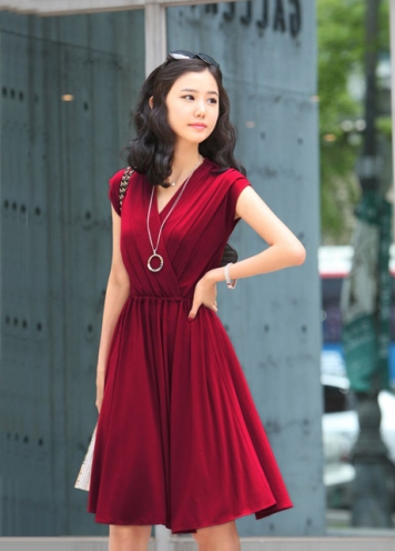 Red Yaletown Dress Inspiration from luulla