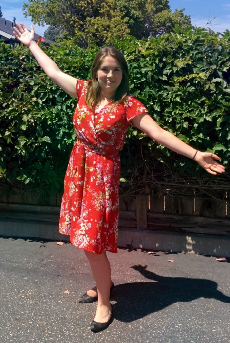 Completed: Red Sewaholic Yaletown Dress | Midwest Coast Sewist