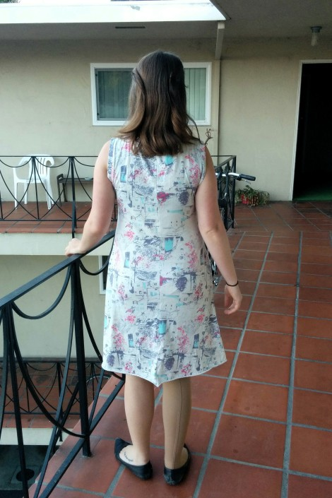 A Handmade Knit Dress from Skopelos Fabric (by Katarina Roccella)