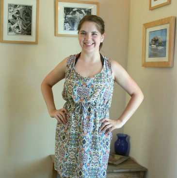 Paisley Southport Dress by True Bias | Made by Caitlin @ Midwest Coast Sewist